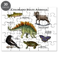 Colorado State Animals Puzzle