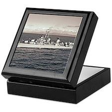 uss owen framed panel print Keepsake Box