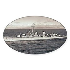 uss owen framed panel print Decal