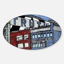 Large Truth Sticker (Oval)
