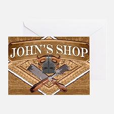 Johns Shop Greeting Card