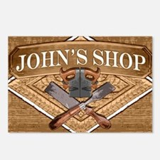 Johns Shop Postcards (Package of 8)