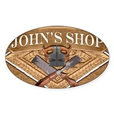 Johns Shop Decal