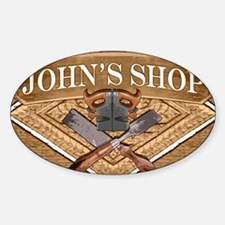 Johns Shop Decal