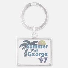 Summer of George Landscape Keychain