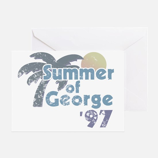 Summer of George Greeting Card