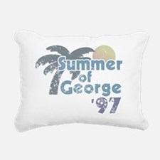Summer of George Rectangular Canvas Pillow