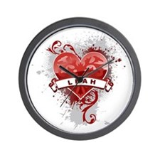 Love Leah Wall Clock