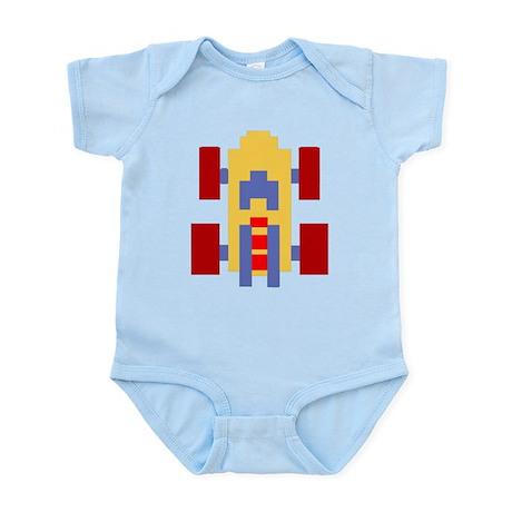 80s Videogame Car Infant Bodysuit