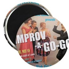 Improv A Go Go - G show HAT May 2012 Magnet