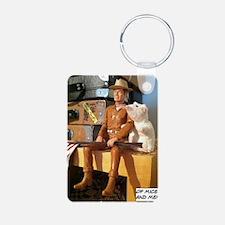 of mice and men Aluminum Photo Keychain