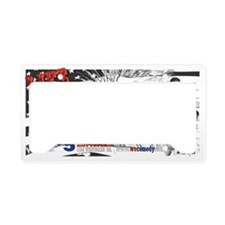 Life Liberty and Laughter License Plate Holder