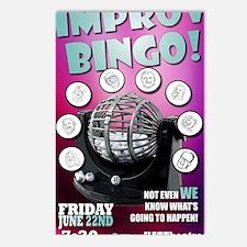 Improv Bingo Postcards (Package of 8)