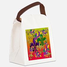 Mardi Gras Blast Canvas Lunch Bag