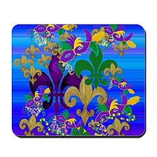 Mardi Gras Psycadelic Mousepad