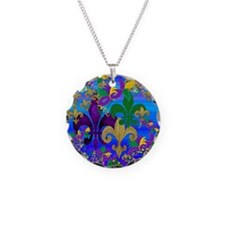 Mardi Gras Psycadelic Necklace