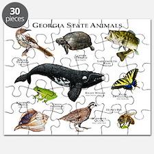 Georgia State Animals Puzzle