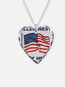 Allen West is my hero Necklace