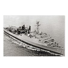 uss point defiance calend Postcards (Package of 8)