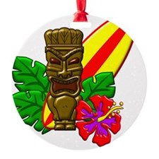 Aloha Hawaii Surfer Ornament
