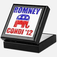 Romney Condi 2012 Keepsake Box