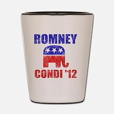 Romney Condi 2012 Shot Glass