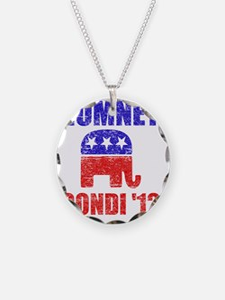 Romney Condi 2012 Necklace