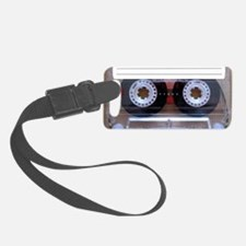 Cassette Music Tape Luggage Tag