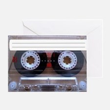 Cassette Music Tape Greeting Card