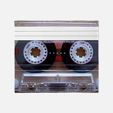Cassette Music Tape Throw Blanket