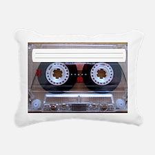 Cassette Music Tape Rectangular Canvas Pillow