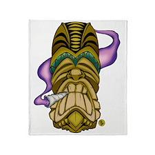 Smokin Tiki Throw Blanket
