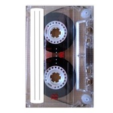 Cassette Music Tape Postcards (Package of 8)