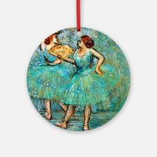 Degas Round Ornament
