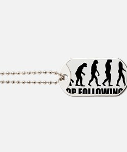 Stop following me Dog Tags
