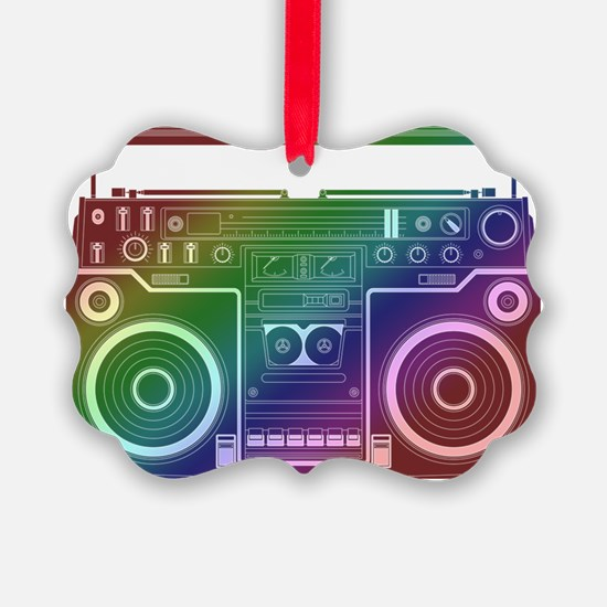 Rainbow Stereo Ornament