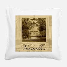 Vintage Versailles Square Canvas Pillow
