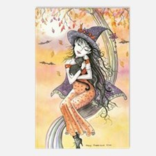 Kiss of October Witch and Postcards (Package of 8)