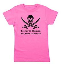 To Err Is Human Girl's Tee