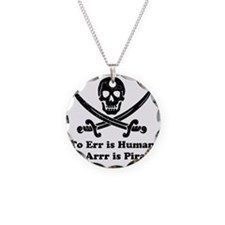 To Err Is Human Necklace