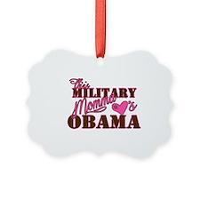 Military Momma 2 Picture Ornament