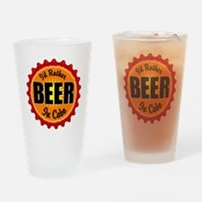 Id Rather Drinking Glass