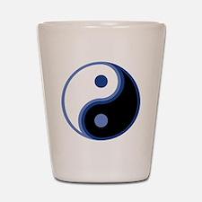 Yin Yang, Blue Shot Glass