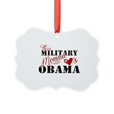 Military Momma Picture Ornament