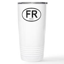 FR - France Oval Travel Coffee Mug