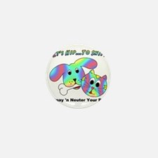 HIP TO SNIP - 8 x 10 Apparel Mini Button