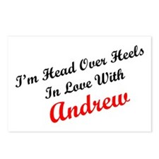 In Love with Andrew Postcards (Package of 8)