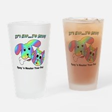 HIP TO SNIP - 8 x 10 Apparel Drinking Glass