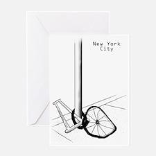NYC Bike S Greeting Card