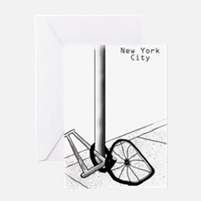 NYC Bike L Greeting Card